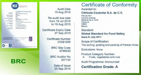 brc-certificación